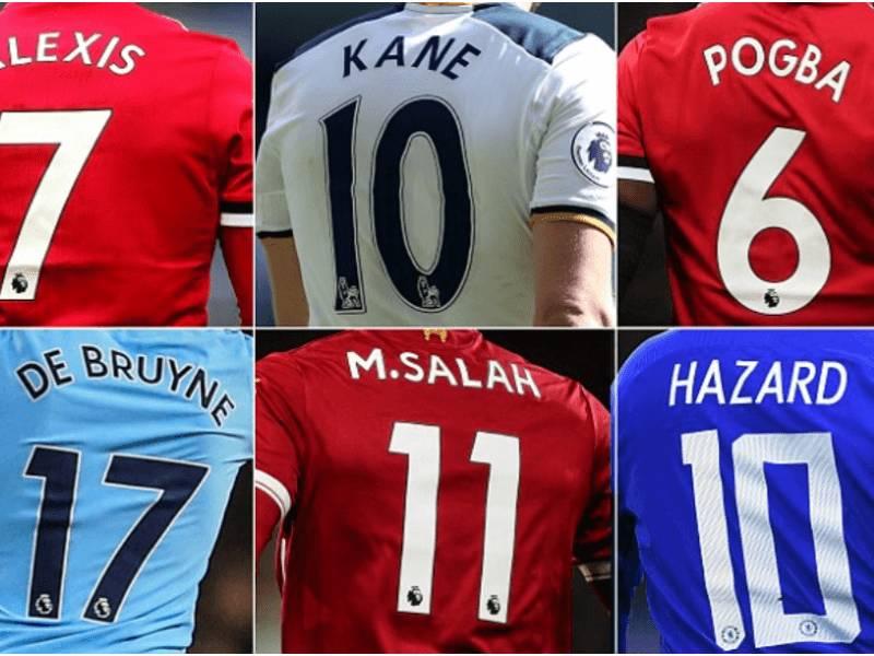 20 lojtarët që kanë shitur më shumë fanella në Premier League