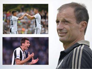Allegri ka vendosur kush do të luajë përkrah Ronaldos në sulm
