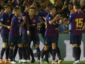 Barcelona do rinovojë mbrojtjen, synon talentin francez