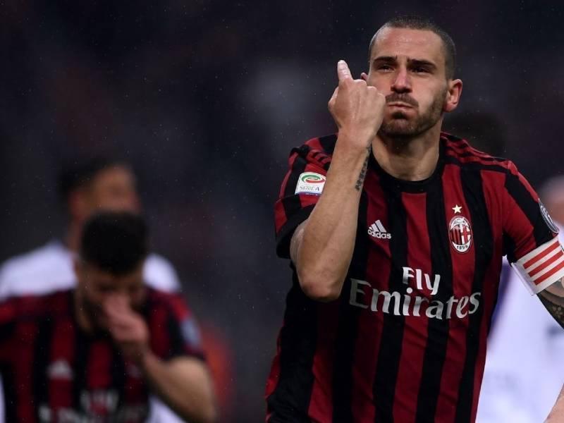 Bonucci zbulon këtë do të mbështes në derbin e Milanos