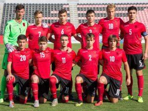 """Çekia """"shemb"""" Shqipërinë, kombëtarja U-17 mundet 6 me 0"""