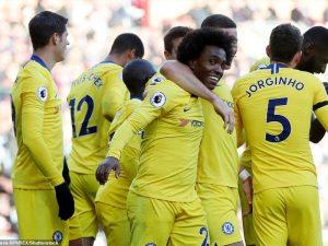Chelsea bën poker ndaj Burnley-t dhe ngjitet e dyta (vdeo)