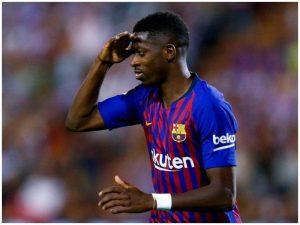 Dembele po fiton minuta te Barça, por mund të shitet në Angli që në janar