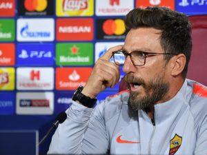 Di Francesco ka frikë nga euforia te Roma