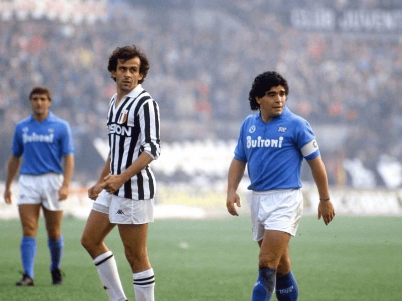 Epoka e artë, kur Maradona e Platini bënin ligjin në futbollin botëror!