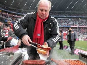 Firma e salçiçeve e Uli Hoeness fiton tender te Bayern