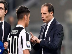 "Ish-trajneri i Juventusit: ""Allegri po vret Dybalan"""