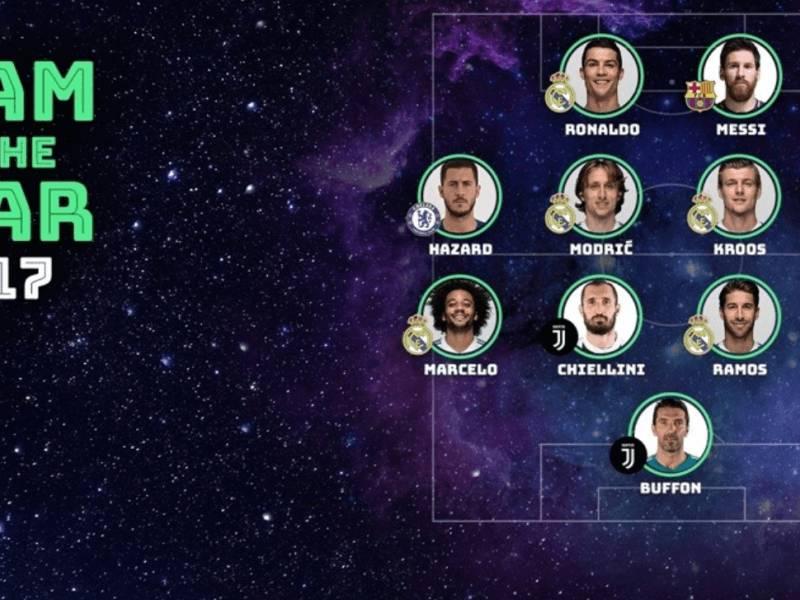 Ky është ekipi i vitit UEFA për 2017-ën