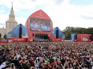Lojtarët e Rusisë u pritën në Moskë si heronj nga një turmë e madhe