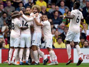 Manchester United i jep fund nisjes perfekte të Watford-it (video)