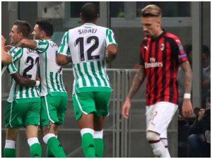 """Milan katastrofë, Betis shëtit në """"San Siro"""" / VIDEO"""