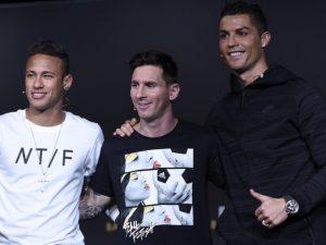 Neymar ka nga një përkufizim për Messi-n dhe CR7