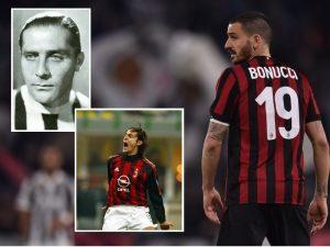 Nga Meazza te… Bonucci? Juve – Milan, sa shumë këmbime lojtarësh!