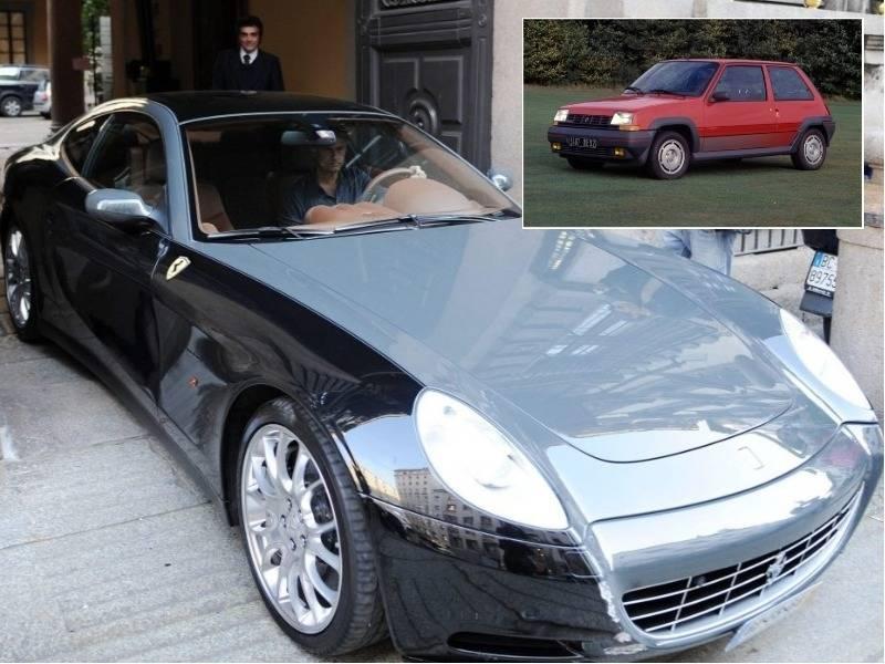 """Nga """"karroca"""" te Ferrari… të gjitha makinat e Mourinhos (FOTO)"""