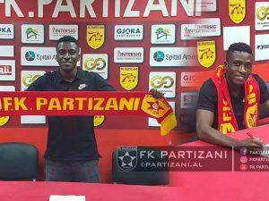 Partizani nënshkruan me mbrojtësin e Shkëndijës së Tetovës