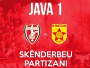 Pjesa e parë/ Nuk ka gola në Korçë në Skënderbeu – Partizani
