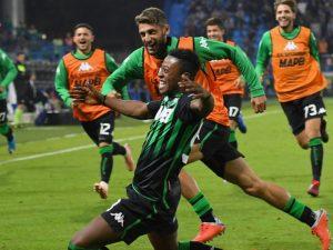 Sassuolo nuk di të ndalet, merr një tjetër fitore në Serie A (video)