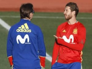Sergio Ramos përplaset me Lopeteguin për një blerje