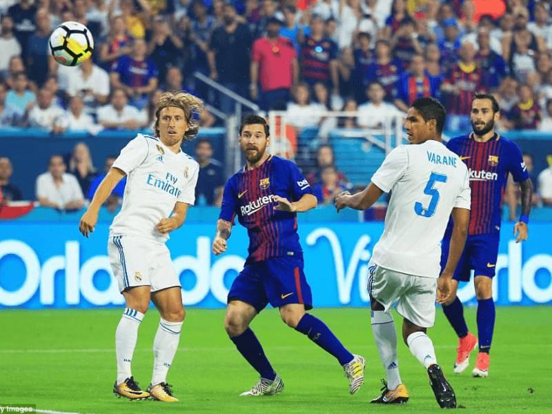 """VIDEO/ Barça fiton """" El Clasico-n"""" në Miami"""