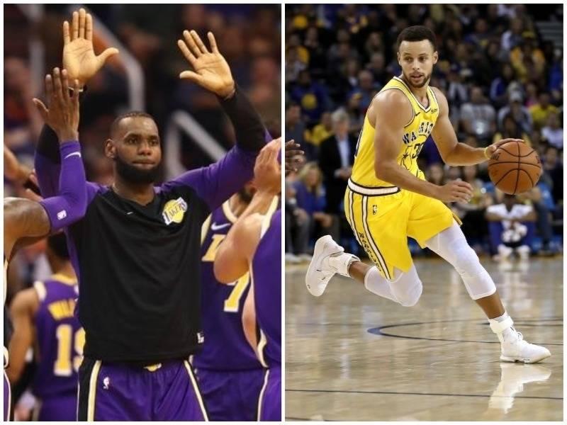 Vjen fitorja e parë për LeBron, Curry shënon 51 pikë ndaj Warriors / VIDEO