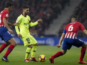 Atletico dhe Barça e mbyllin në paqe (video)