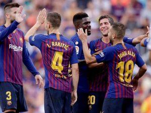 """Juventus dhe Manchester City në garë, """"ndjekin"""" lojtarin e Barcelonas"""