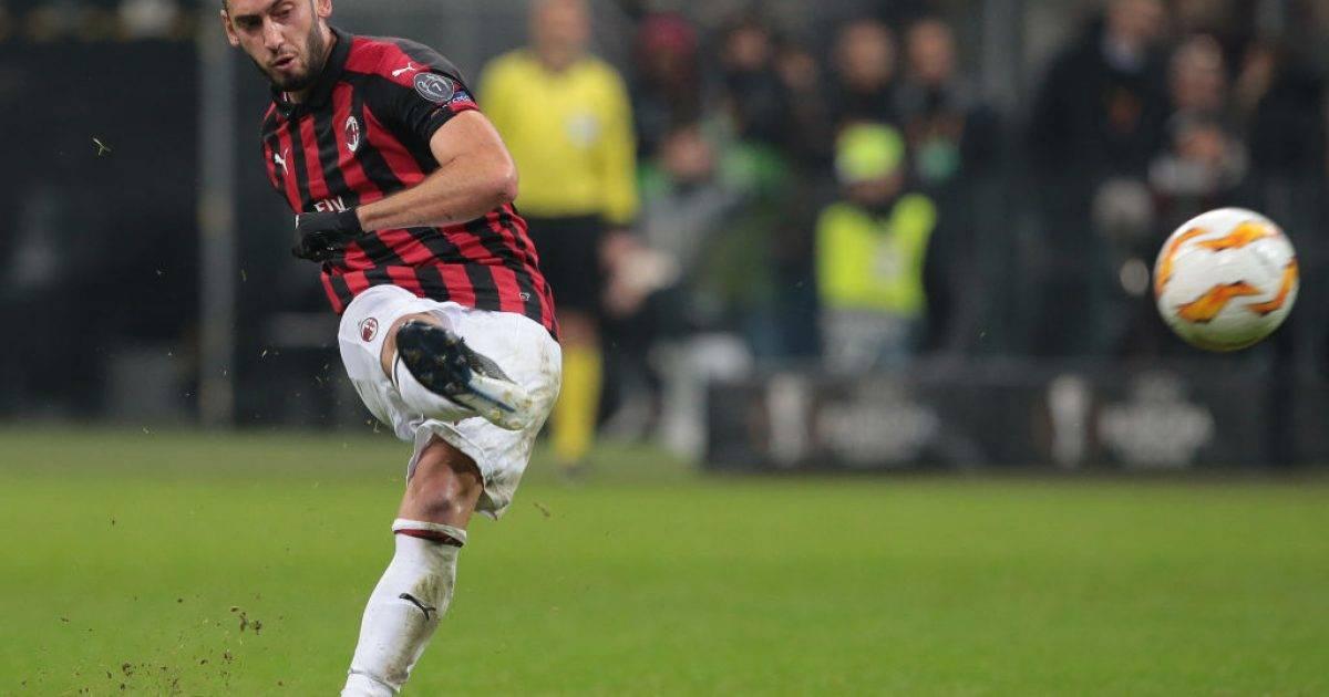 Milani i gatshëm të shesë Calhanoglun
