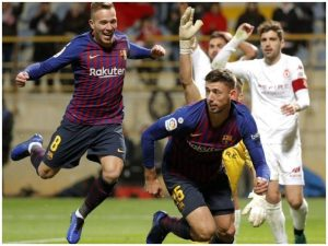 Pas Realit, Barcelona pa frymëzim kundër skuadrës së kategorisë së tretë / VIDEO