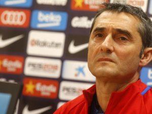 Valverde e fal Dembele-n dhe e grumbullon kundër Atletico-s