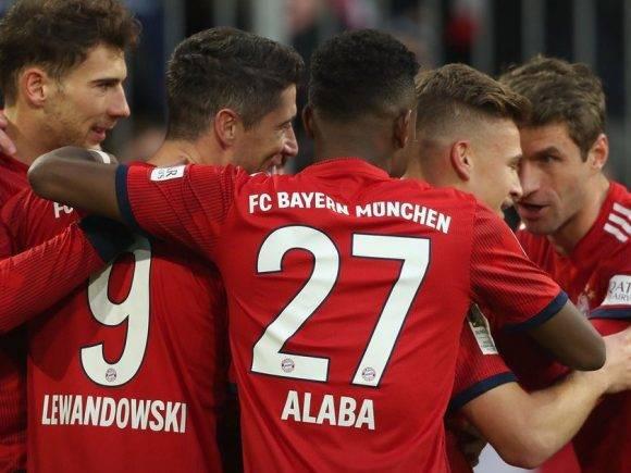 Bayerni triumfon me lehtësi ndaj Nurnbergut
