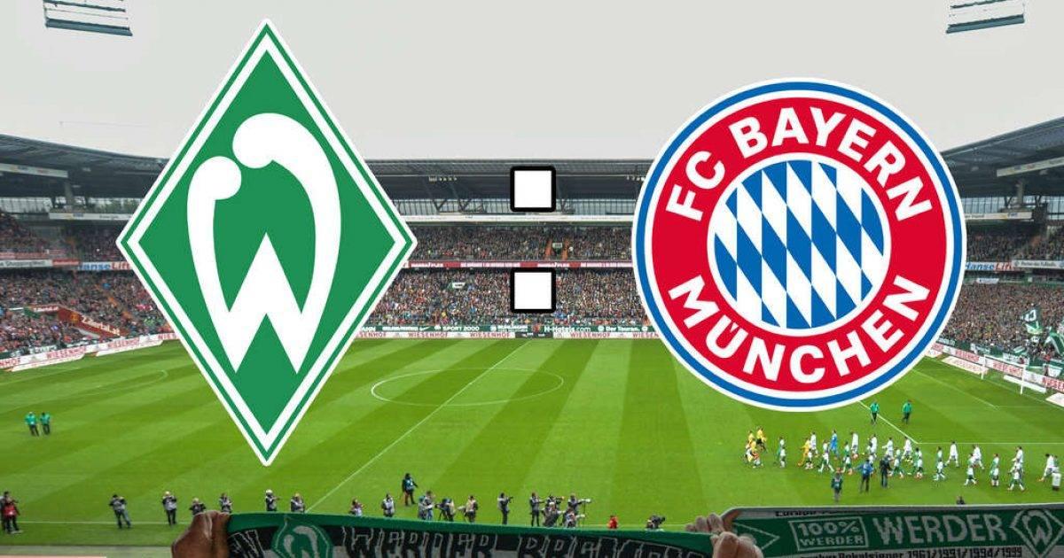Formacionet zyrtare, Werder Bremen nikoqir i Bayernit