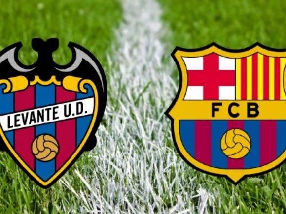 Levante-Barcelona: Formacionet zyrtare, starton Bardhi