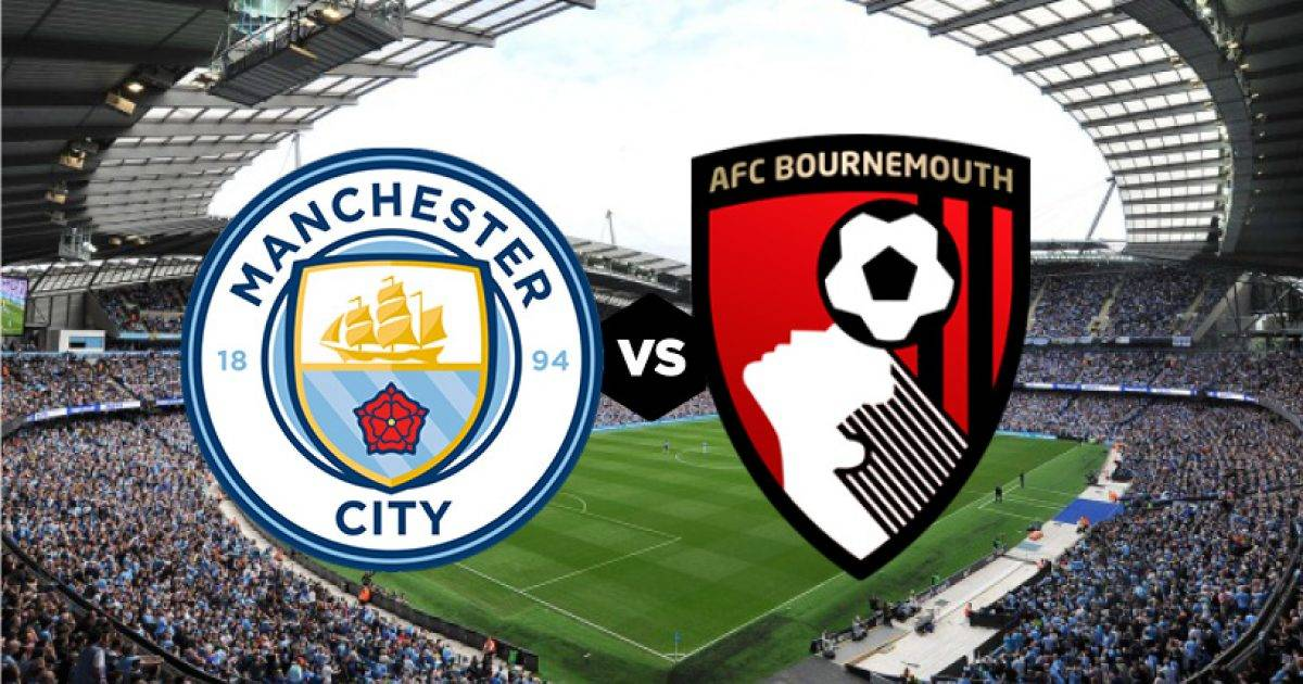 Manchester City – Bournemouth, formacionet zyrtare
