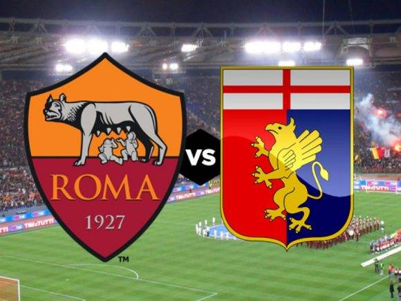 Roma-Genoa: Formacionet zyrtare, Kluivert nga fillimi