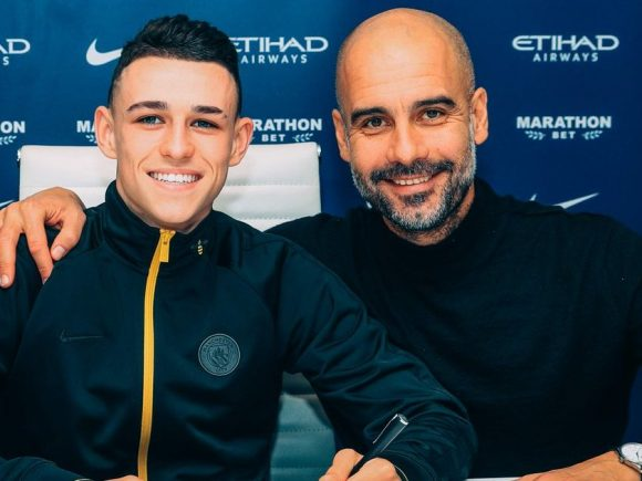 Zyrtare: Man City blindon talentin Phil Foden