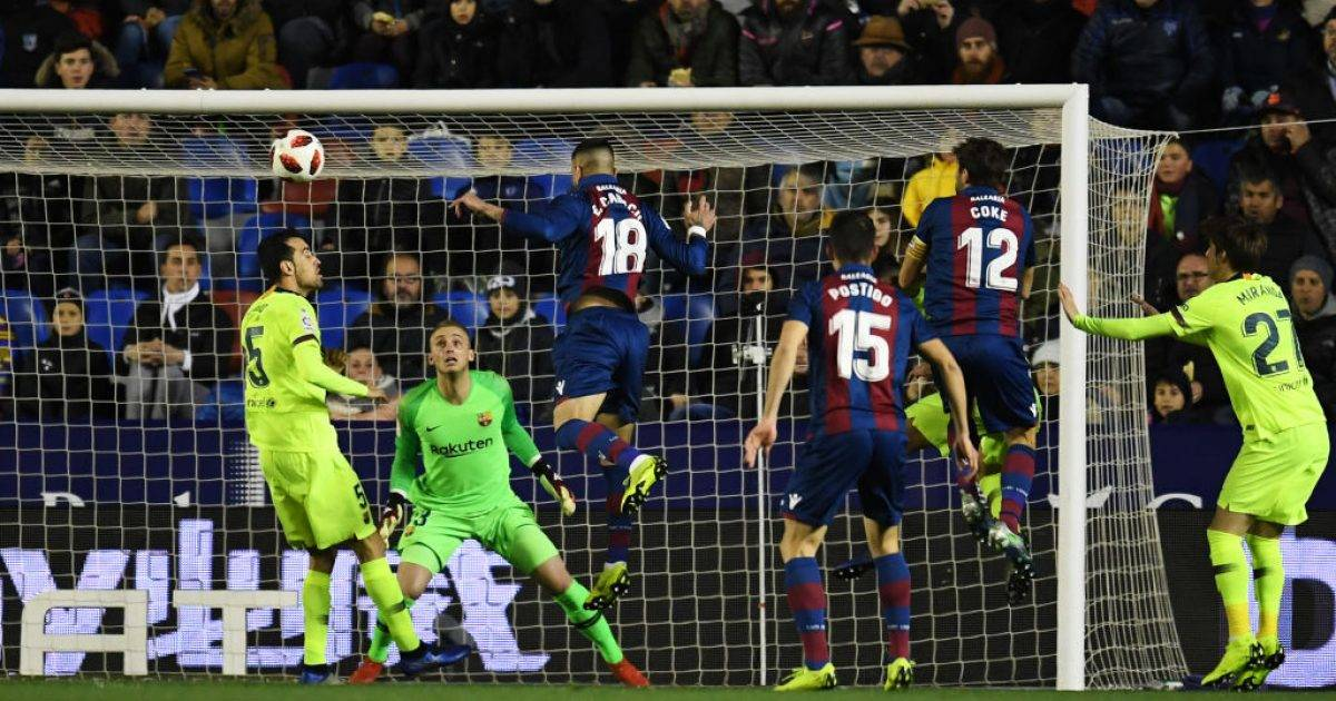 Barcelona humb nga Levante, kualifikimin e kërkon pas një jave në Camp Nou