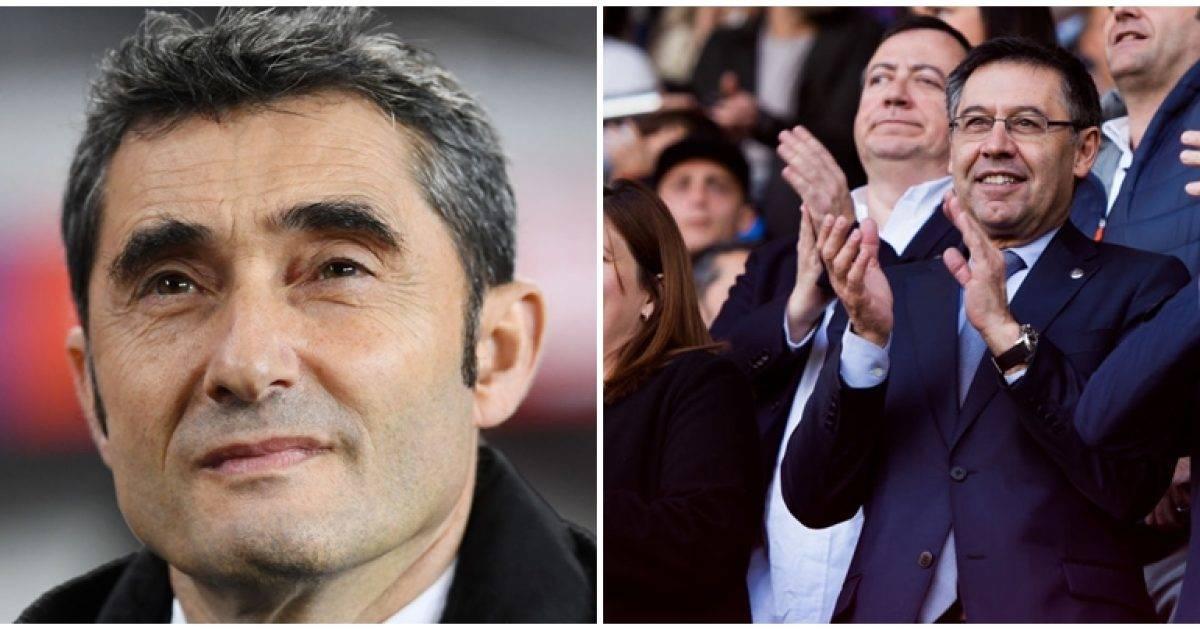 Bartomeu: Valverde do të jetë trajner i Barcelonës edhe në sezonin e ardhshëm