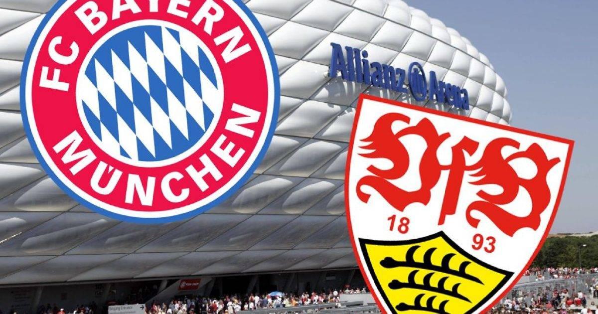 Bayern Munich – Stuttgart, formacionet zyrtare