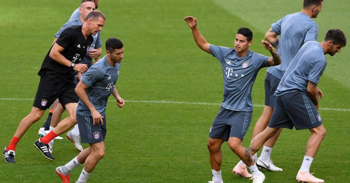 Bayerni ende nuk ka vendosur për blerjen përfundimtare të James Rodriguez