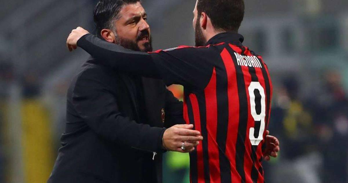 Gattuso nuk e përjashton mundësinë e largimit të Higuainit