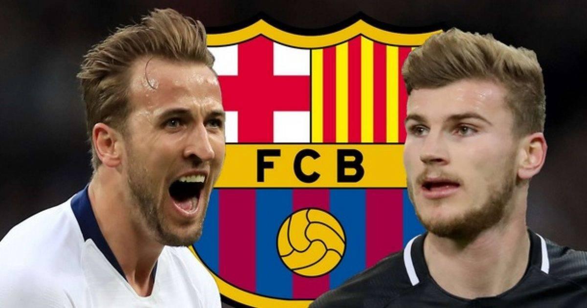 Kane dhe Werner në listën e ngushtë të Barcelonës, edhe katër sulmues tjetër alternativa