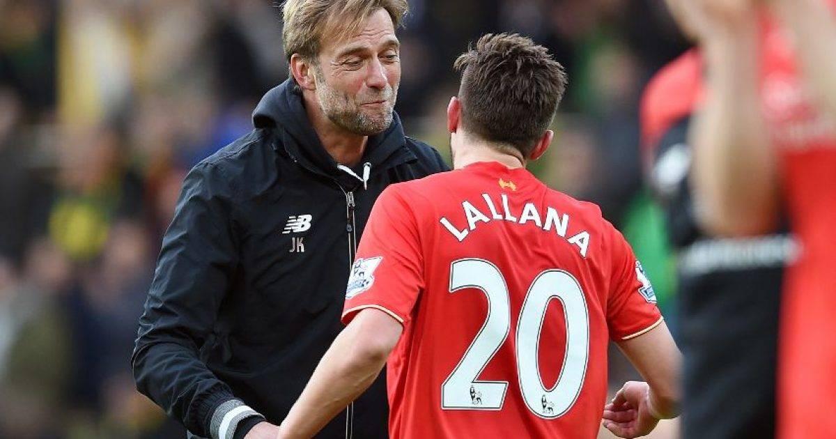 Lallana është i nevojshëm te Liverpooli, thotë Klopp