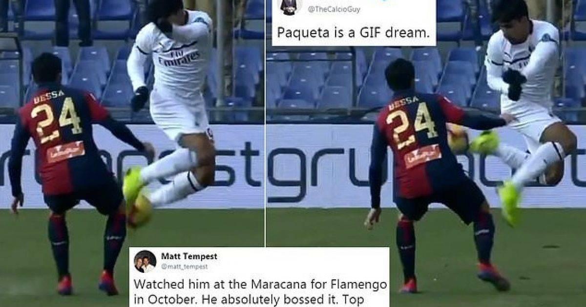 Momenti magjik i Paquetas që po i bën tifozët e Milanit të ëndërrojnë – një yll në Serie A dhe tandem për Piatekun