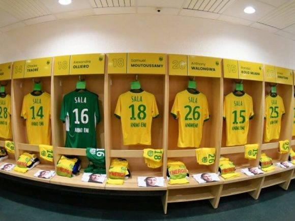 Nantes luan ndeshjen e parë pas zhdukjes së Sala, e gjithë skuadra me emrin e argjentinasit në fanellë