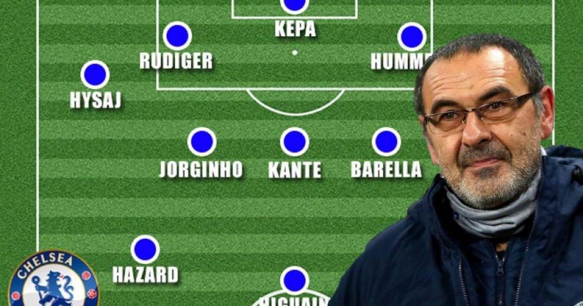 Si do të dukej Chelsea i Maurizio Sarrit nëse blihen të gjithë lojtarët që italiani i kërkon