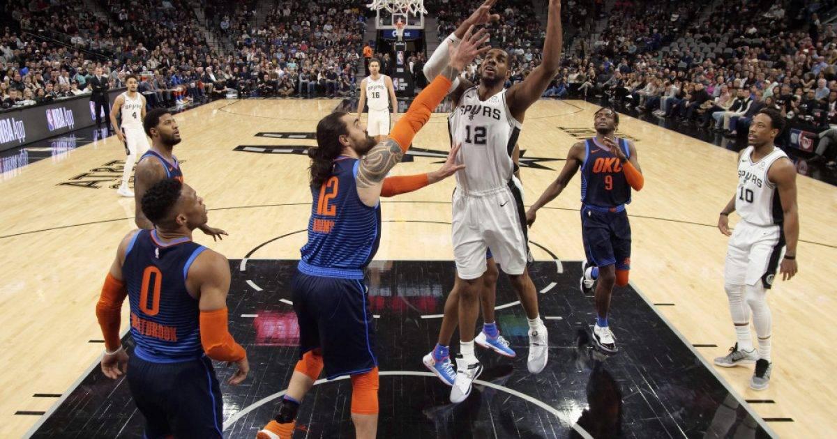 Spektakël në Teksas, San Antonio fiton dramën përballë Oklahomas – Aldridge shkëlqen me 56 pikë