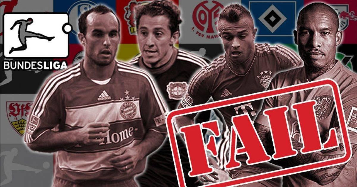 Transferimet e dështuara të janarit në Bundesliga, nga Shaqiri te Donovan e De Jong