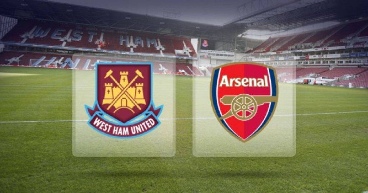 West Ham – Arsenal, formacionet zyrtare