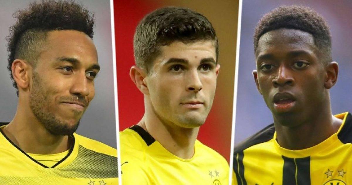 """""""Fabrika e parave"""" e mban emrin e Borussia Dortmundit – 400 milionë euro shitje në pesë vite me yje si Dembele, Aubameyang e Pulisic"""