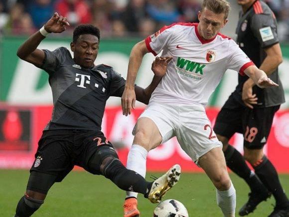 Augsburg – Bayern Munich, formacionet zyrtare
